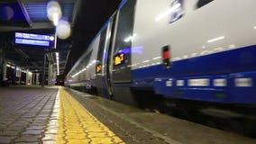 High-speed train stock video
