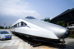 High-speed train model Stock Photo