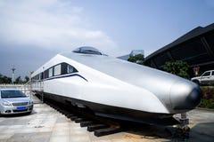 High-speed train model Stock Photo
