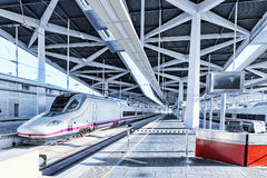 High speed train. Stock Photography