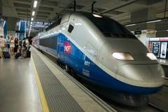 High speed train TGV Stock Photos