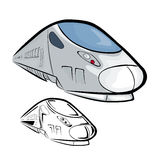 High Speed Train 2 Royalty Free Stock Images