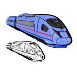 High Speed Train 1 Stock Photo