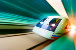 High-speed train Stock Image