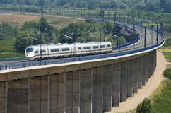 High-speed train Stock Photo