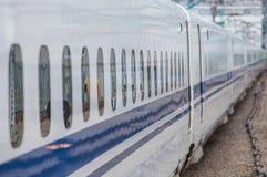 High speed train window Royalty Free Stock Photos