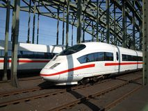 High speed trains AVE HSR intercity Stock Images