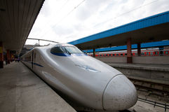 High Speed Trains China royalty free stock photography