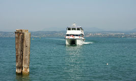 High speed transport boat Royalty Free Stock Images