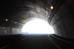 High speed tunnel Royalty Free Stock Image
