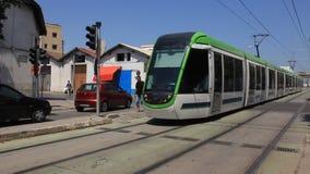 High-speed urban rail train stock video