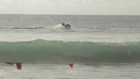 High-speed watercraft stock video footage