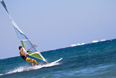 High Speed Windsurfer Royalty Free Stock Image