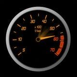 High Speeding – The Red Line Stock Photo