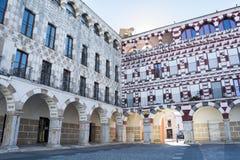 High square (Plaza Alta, Badajoz), Spain Royalty Free Stock Images