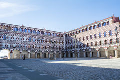 High square (Plaza Alta, Badajoz), Spain Stock Image