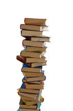 High stack of books Stock Photos