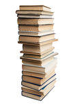 The high stack of books Stock Photos