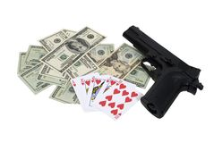High stakes gambling Royalty Free Stock Image