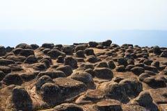 High stone cliff Stock Photos