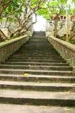 High Stone Stairway Stock Photo
