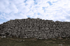 High stone wall Royalty Free Stock Images