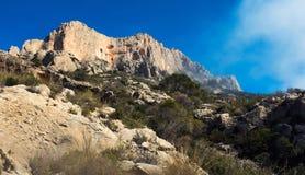 High stony mountains Stock Image