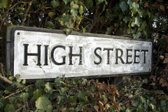 High Street Royalty Free Stock Image