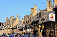 High Street buildings, Chipping Campden. Stock Photos