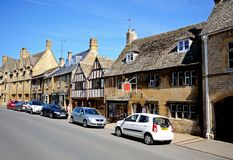 High Street, Chipping Campden. Royalty Free Stock Photography