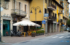 High Street Colico Royalty Free Stock Photo