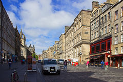 High Street Edinburgh Royalty Free Stock Photography