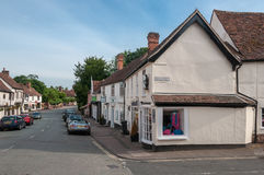 The high street in Lavenham, Suffolk, UK Stock Photos