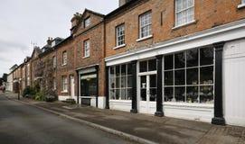 High Street, Newnham. Old Shops & Houses, High Street, Newnham-on-Severn. Gloucestershire Royalty Free Stock Photo