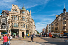 High Street. Oxford, Oxfordshire, England Royalty Free Stock Image