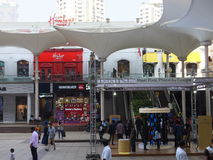 High Street Phoenix Mall in Mumbai, India. The compound also hosts a five-star hotel, a multiplex, commercial space and a residential tower Stock Image