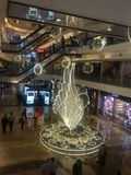 High Street Phoenix Mall in Mumbai, India. The compound also hosts a five-star hotel, a multiplex, commercial space and a residential tower Royalty Free Stock Photography