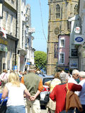 High Street, St. Ives, Cornwall. Royalty Free Stock Photography