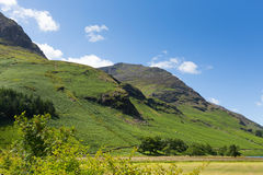 High Style mountain near Buttermere Lake District Cumbria England uk on a beautiful sunny summer day Royalty Free Stock Photography