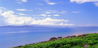 High summer, West coast of Scotland Stock Photography
