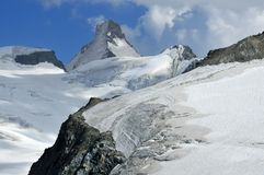 High swiss peak Stock Photos