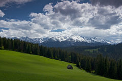 High Tatra. From polish side Stock Photo