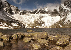 High Tatra. Valley in the High  in Slovakia Royalty Free Stock Image