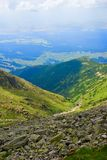 High tatra mountain valley Royalty Free Stock Images