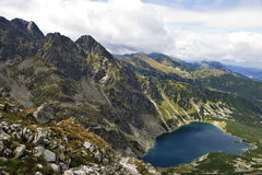 The High Tatra mountains Stock Photography
