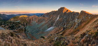 High Tatra mountains in autumn Stock Images