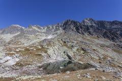 High Tatra Mountains National Park. Tatra mountains - Wildlife and breathtaking views Stock Photo