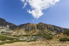 High Tatra Mountains National Park Royalty Free Stock Images