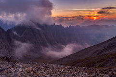 High Tatra mountains Royalty Free Stock Images