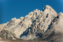 High Tatra range. High Tatras or High Tatra (Slovak and Czech: Vysoké Tatry, Polish: Tatry Wysokie) are a mountain range on the borders between Slovakia and Stock Images